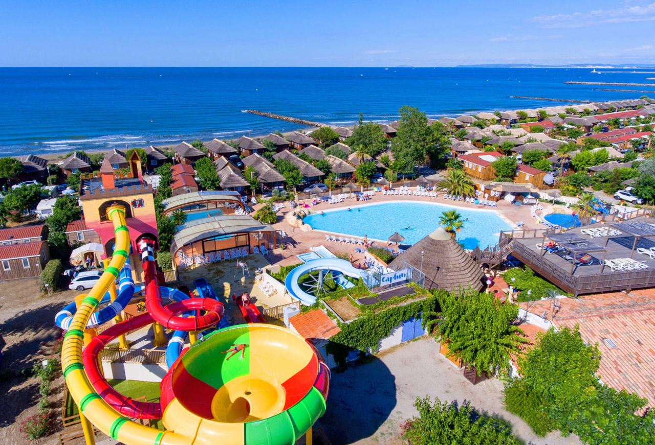 Camping Holidays On Campsite Boucanet In The South Of France
