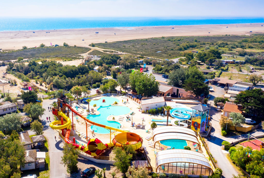 Camping holidays on campsite c te vermeille in the south for Camping blonville sur mer avec piscine