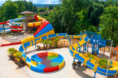 Camping holidays on Domaine Duravel, family holidays next to