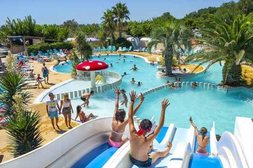 Vias (Languedoc Roussillon   Herault) Campsite France Floride · Languedoc  Roussillon   Herault In The South Of France, With Direct Access To The Beach