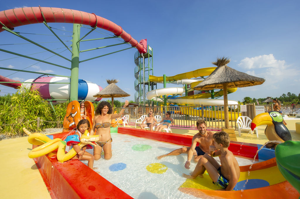 Camping holidays lila family holidays in linxe aquitaine