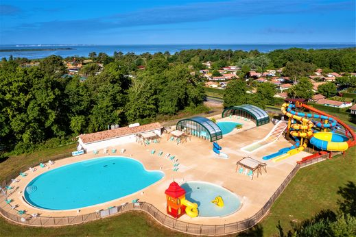 Campsite roumingue r server en ligne sur for Camping a arcachon avec piscine